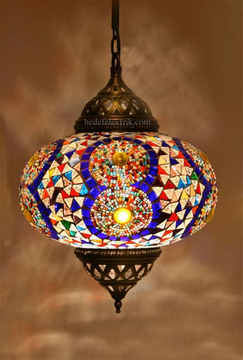 Turkish Pendant Light Turkish Style Colourful Mosaic Pendant L 22 Cm Mediterranean Pendant Lighting Other
