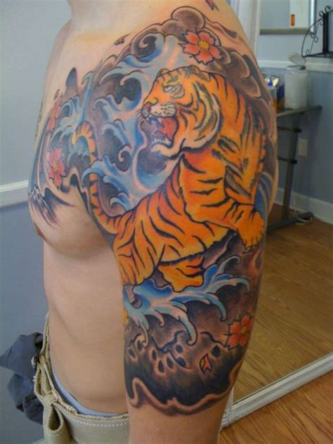 japanese tiger savannah ink tattoo