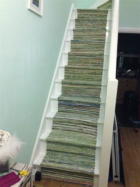 Ikea Tanum Rug by I Turned 7 Ikea 163 5 Tanum Rugs Into A New Stair Runner