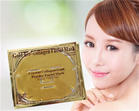 Masker Topeng Gold Bio Collagen Mask 24k gold bio collagen mask 10pcs malaysia daily sales