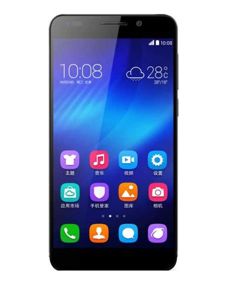 Huawei Honor 6 H60 L02 Ram 3gb 32gb Garansi Distributor buy huawei honor 6 4g lte android 4 4 octa 3gb 16gb