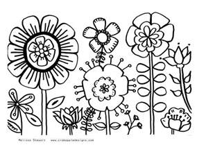 flower coloring pages free at home with crab apple designs november 2011