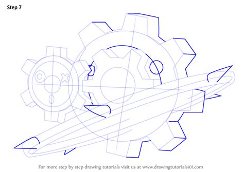 klink pokemon coloring pages step by step how to draw klinklang from pokemon