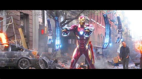 iron man nano tech suit avengers infinity war