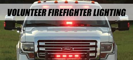 firefighter led light bars volunteer firefighter emergency led lights