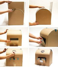 How Do You Make A Box Out Of Paper - 1000 images about cardboard on cardboard