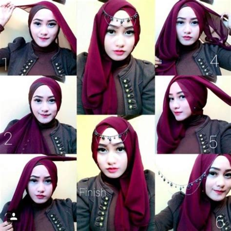 tutorial hijab simple glamour 10 tutorial hijab pesta simpel tapi elegan 2017