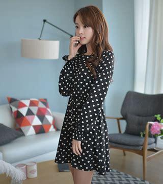 Anting Murah Korea Black dress ds3528 black tamochi toko baju wanita murah dan