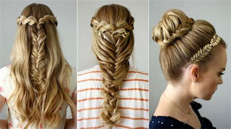 back to school winter hairstyles 80 peinados sencillos para fiestas pelo corto y largo