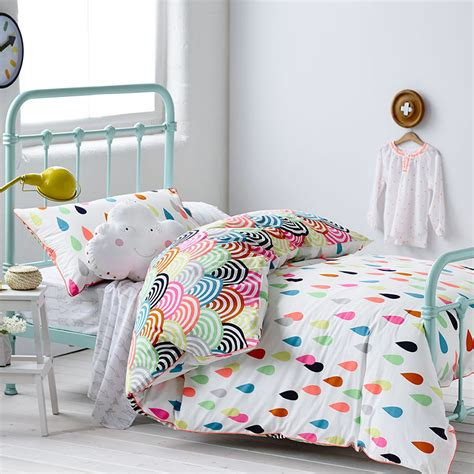 childrens bedroom bedding adairs kids rainbow confetti ella s bedroom