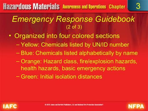 yellow section of erg emergency response guidebook yellow section 28 images