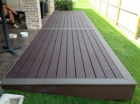 Composite Patio by Best 25 Composite Decking Ideas On