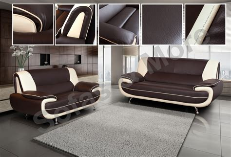 2 Seater Leather Corner Sofa by New 3 2 Seater Leather Sofa Set Brown 3 Seater 2