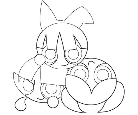ppgz coloring pages coloring pages