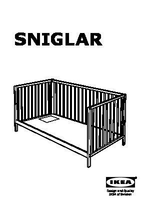 88 sniglar crib assembly beds sniglar crib
