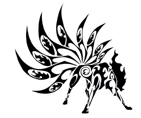 tribal tattoos wiki image tribal ninetales jpg creepypasta wiki