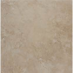 X Ceramic Floor Tile Style Selections 18 X 18 Almond Glazed Porcelain Floor Tile Lowe S Canada