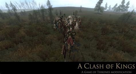 mod game of thrones mount and blade warband lannister troops image a clash of kings game of thrones