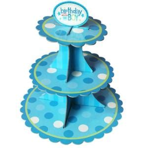 3 Tiers Cake Stand Intl 2 tier metal cake stand cupcake vintage chic blue