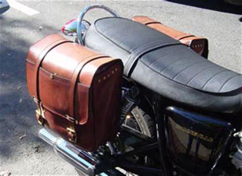 Handmade Saddlebags - custom motorcycle saddle bags by fred eisen leather