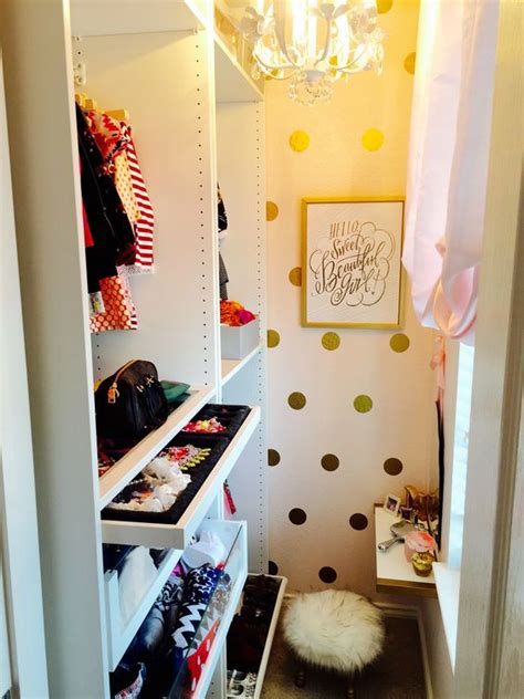 incredible small walk  closet ideas makeovers  happy housie