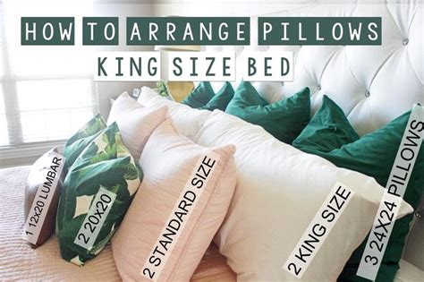 pillows for king size bed best 25 pillow arrangement ideas on pinterest