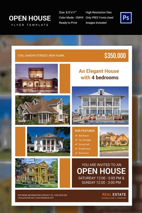 open house flyer 27 open house flyer templates printable psd ai vector
