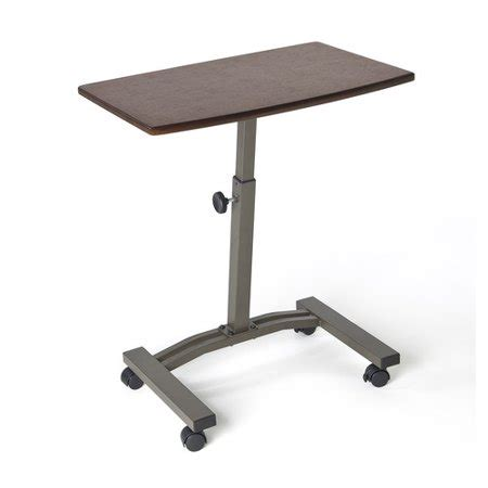 mobile laptop desk seville classics mobile laptop desk cart walmart