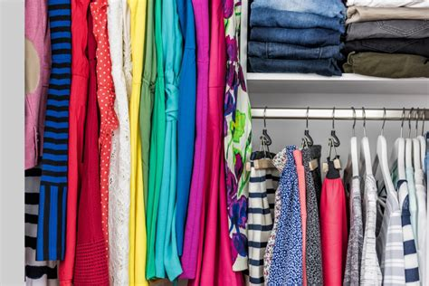 color organized closet simple tips for getting your closet organized for school
