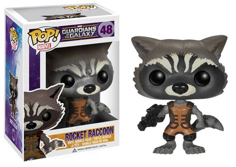 Rocket Raccoon 01 figura pop rocket raccoon guardianes de la galaxia by funko