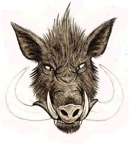 hog hunting tattoo designs boar design for tatuajes