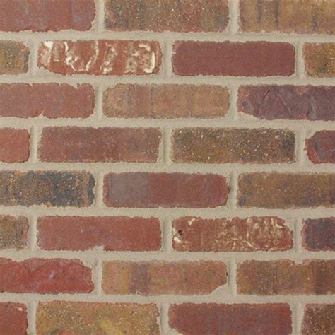 old mill brick colonial collection columbia street 7 5 in x 2 25 in x 9 16 in clay thin brick