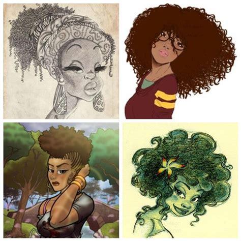natural hairstyles cartoon natural hair art natural hair art ask a natural