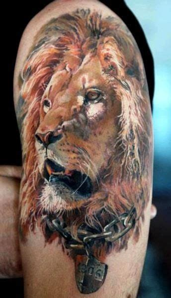 tattoo 3d animal lion arm 3d tattoos egodesigns for him personal