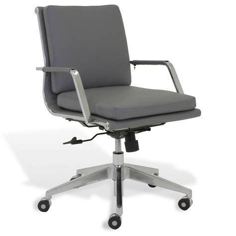 kontor low back desk chair jesper greta grey low back office chair collectic home
