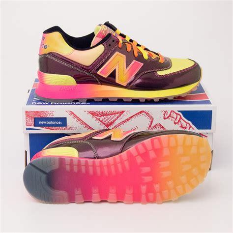 rainbow shoes new balance s rainbow 574 classics running shoes