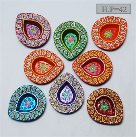 Handmade Decorative Diyas - buy handmade diyas from shubham united states id 693273