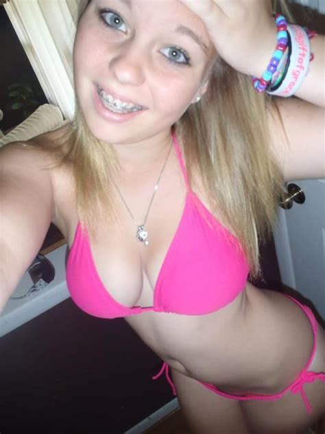 young teen braces swimsuits girl with braces in a bikini braces pinterest teen