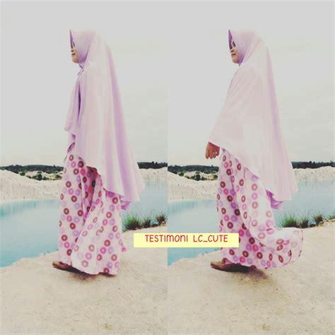 Felisha Syari Khimar lc shop jual baju gamis terbaru gamis syari