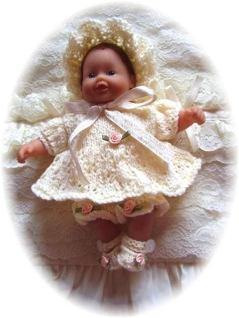 free 12 inch doll knitting patterns 91 best images about knitting dolls clothes on