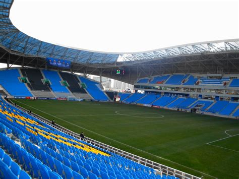 Modern Restrooms Incheon Football Stadium The New Home Of Incheon United