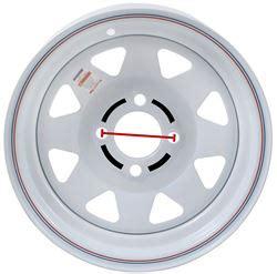 measure  bolt pattern   trailer wheel etrailercom