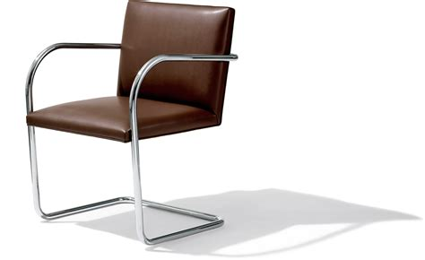 Brno Chair by Brno Chair With Tubular Steel Frame Hivemodern