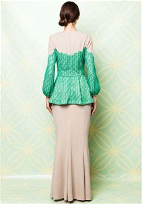 Promo Kebaya Brokat Peplum baju kurung moden lace minimalis baju raya 2016 fesyen