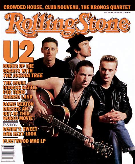 Bono Magazine Cover 2 u2 covers 499 05 07 1987 u2 the rolling covers