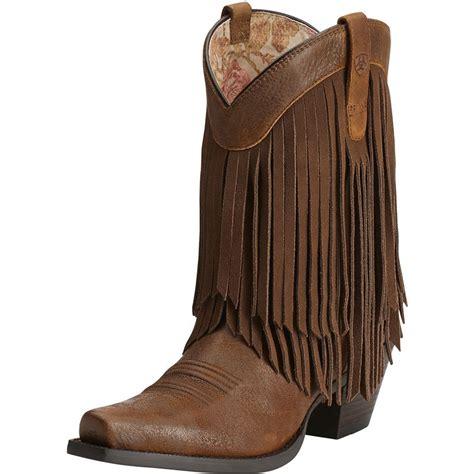 shop s ariat gold brown terra boots