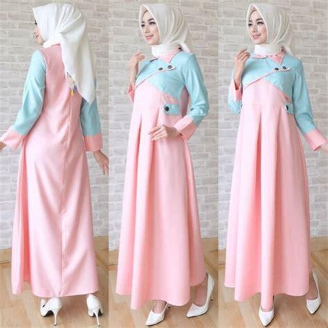 Model Baju Muslim Gamis Terbaru Dan Modern Fc Aretta Syari Whit pilihan model baju gamis terbaru kebaya paling trend tahun ini arief ramadhan