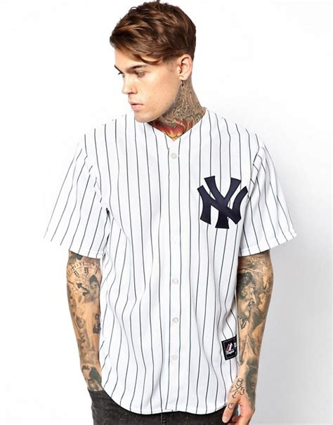 Syakee Dress Ck majestic majestic ny yankees baseball jersey