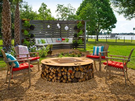 Cabin Design Ideas by 66 Fire Pit And Outdoor Fireplace Ideas Diy Network Blog