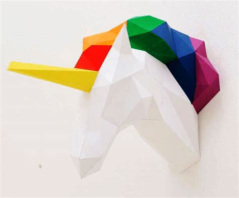 Papercraft Unicorn - papercraft unicorn related keywords suggestions
